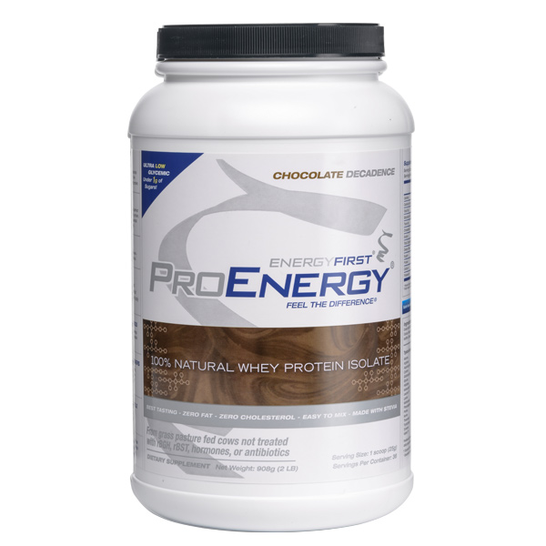 Proenergy Chocolate Protein Powder Highest Quality Natural Protein