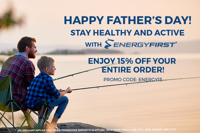 Happy's Father Day! This month stay healthy and active!