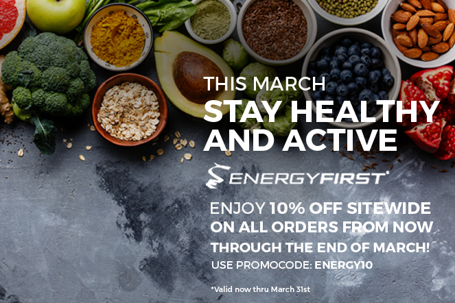 This March stay healthy and active!