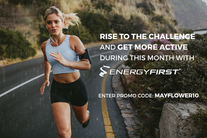 Rise to the challenge and get more active this month with EnergyFirst!