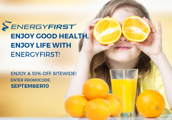 Enjoy this  august! Have a healthy and active back to school with EnergyFirst