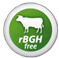 From grass-fed cows NOT treated with rBGH