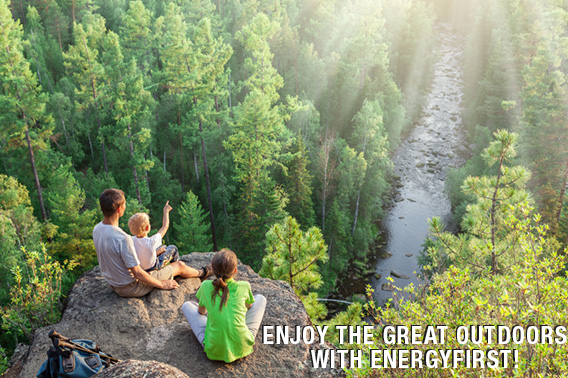 The Great Outdoor with EnergyFirst!